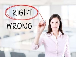 Ethical dilemma: Right or wrong?
